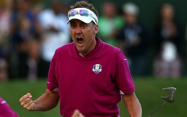 Poulter's eyes